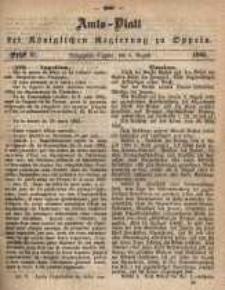 Amts-Blatt der Königlichen Regierung zu Oppeln pro 1865, 50 Bd., nr 31