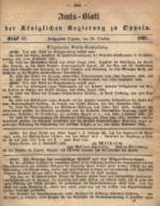 Amts-Blatt der Königlichen Regierung zu Oppeln pro 1865, 50 Bd., nr 42