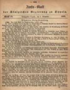 Amts-Blatt der Königlichen Regierung zu Oppeln pro 1865, 50 Bd., nr 49