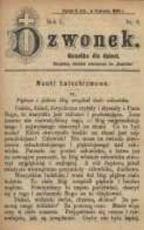 Dzwonek, 1894, R. 1, nr 6