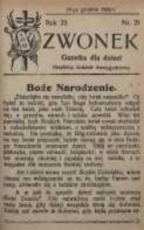 Dzwonek, 1924, R. 22, nr 21