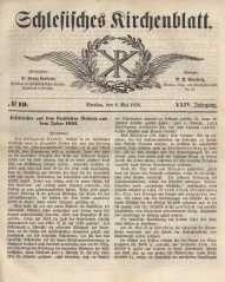 Schlesisches Kirchenblatt, 1858, Jg. 24, nr 19