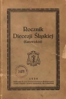 Rocznik Diecezji Śląskiej (Katowickiej), 1938