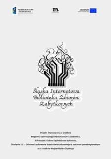 Podsumowanie projektu Śląska Internetowa Biblioteka Zbiorów Zabytkowych