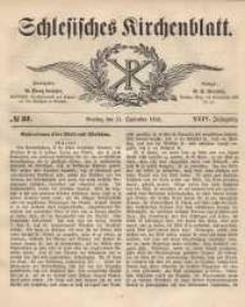 Schlesisches Kirchenblatt, 1858, Jg. 24, nr 37