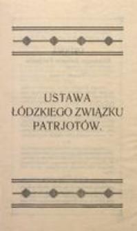 Ustawa Łódzkiego Związku Patriotów