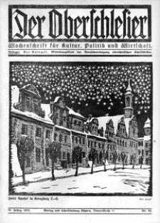 Der Oberschlesier, 1921, Jg. 3, Nr. 52