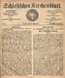 Schlesisches Kirchenblatt, 1867, Jg. 33, nr 11
