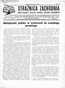 Strażnica Zachodnia, 1932, R. 6, nr 7/8