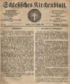 Schlesisches Kirchenblatt, 1867, Jg. 33, nr 42