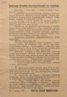 Konferencya Stronnictw Niepodległościowych zab. rosyjskiego. D. 1 czerwca 1915