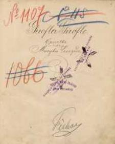 Girofla-Girofle. Operetka w 3 aktach. Muzyka Lecocqa