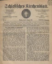 Schlesisches Kirchenblatt, 1871, Jg. 37, nr 4