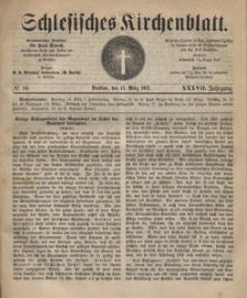 Schlesisches Kirchenblatt, 1871, Jg. 37, nr 10
