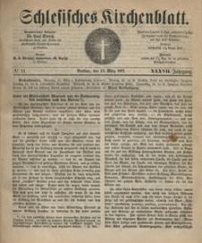 Schlesisches Kirchenblatt, 1871, Jg. 37, nr 11