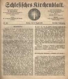 Schlesisches Kirchenblatt, 1866, Jg. 32, nr 32