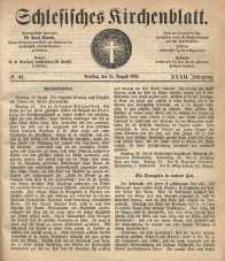 Schlesisches Kirchenblatt, 1866, Jg. 32, nr 34