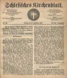 Schlesisches Kirchenblatt, 1866, Jg. 32, nr 39