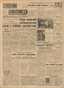 Trybuna Robotnicza, 1949, nr91