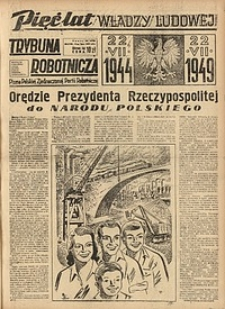 Trybuna Robotnicza, 1949, nr193