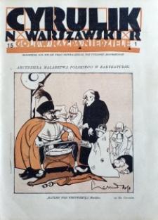 Cyrulik Warszawski, 1926, R. 1, nr 15