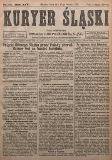 Kuryer Śląski, 1922, R. 14 [właśc. 16], nr14