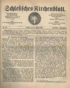 Schlesisches Kirchenblatt, 1868, Jg. 34, nr 33