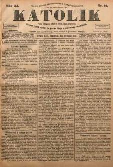 Katolik, 1901, R. 34, nr 14