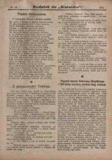 Dodatek do Katolika, 1911, nr10
