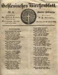 Schlesisches Kirchenblatt, 1836, Jg. 2, nr 4