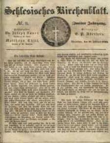 Schlesisches Kirchenblatt, 1836, Jg. 2, nr 9