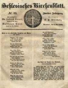 Schlesisches Kirchenblatt, 1836, Jg. 2, nr 19