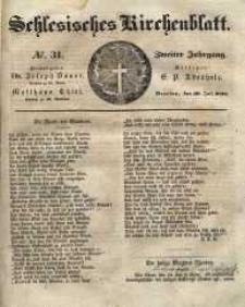 Schlesisches Kirchenblatt, 1836, Jg. 2, nr 31