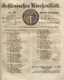 Schlesisches Kirchenblatt, 1836, Jg. 2, nr 33