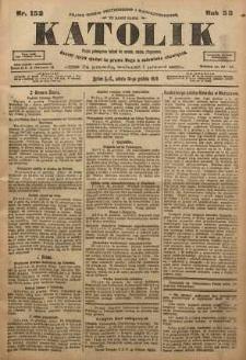 Katolik, 1920, R. 53, nr 152