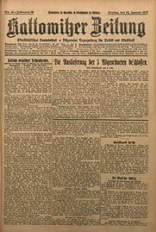 Kattowitzer Zeitung, 1927, Jg. 59, nr16