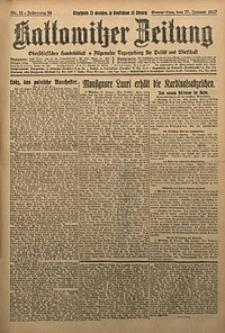 Kattowitzer Zeitung, 1927, Jg. 59, nr21