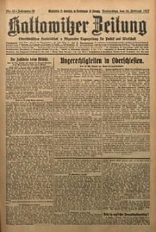 Kattowitzer Zeitung, 1927, Jg. 59, nr32