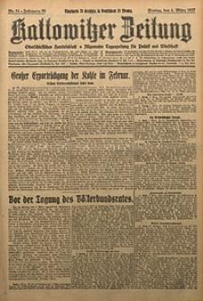 Kattowitzer Zeitung, 1927, Jg. 59, nr51