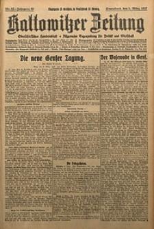 Kattowitzer Zeitung, 1927, Jg. 59, nr52