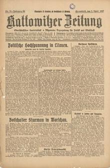 Kattowitzer Zeitung, 1927, Jg. 59, nr76