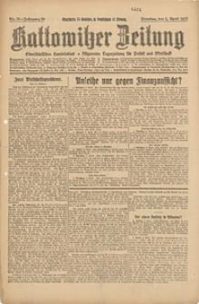 Kattowitzer Zeitung, 1927, Jg. 59, nr78