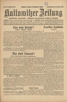Kattowitzer Zeitung, 1927, Jg. 59, nr95
