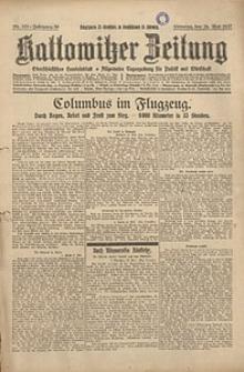 Kattowitzer Zeitung, 1927, Jg. 59, nr118