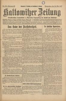 Kattowitzer Zeitung, 1927, Jg. 59, nr120