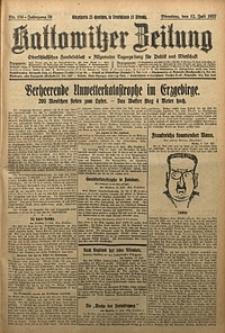 Kattowitzer Zeitung, 1927, Jg. 59, nr156