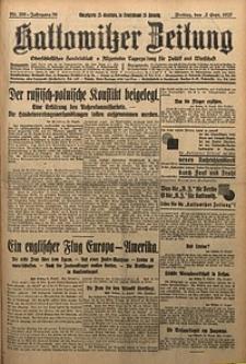 Kattowitzer Zeitung, 1927, Jg. 59, nr200