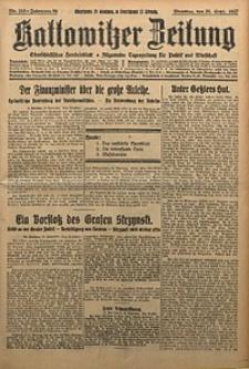 Kattowitzer Zeitung, 1927, Jg. 59, nr215