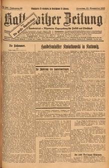 Kattowitzer Zeitung, 1927, Jg. 59, nr268