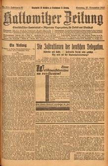 Kattowitzer Zeitung, 1927, Jg. 59, nr273